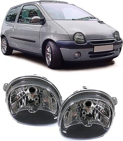 Carparts Online 15368 Klarglas Scheinwerfer Schwarz Paar Auto