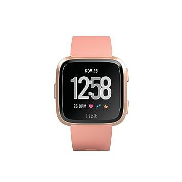 Fitbit Unisex Versa Health and Fitness Smartwatch: Amazon co