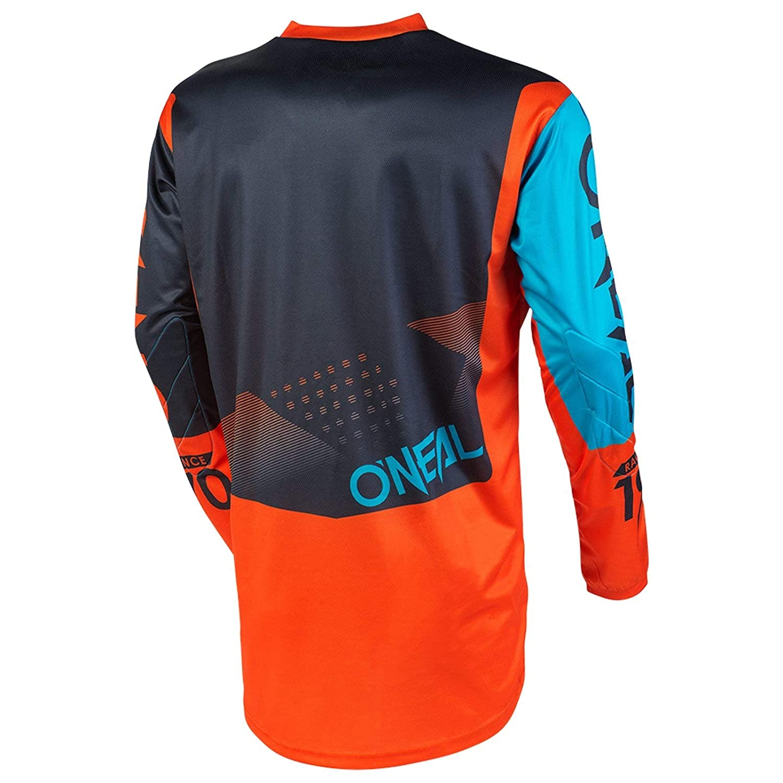 Gray//Orange//Blue, L ONeal Element Racewear Child Jersey