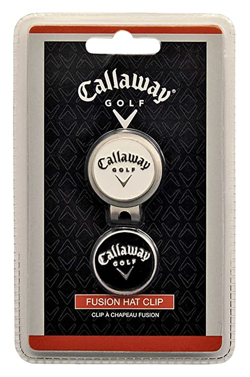 Amazon.com   Callaway Fusion Hat Clip   Golf Ball Markers   Sports ... 722efd983fa