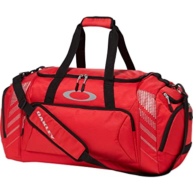 Oakley 55L SMALL SPORT DUFFEL Red Line Duffle Bag  Amazon.co.uk  Clothing 069e291a37ecf