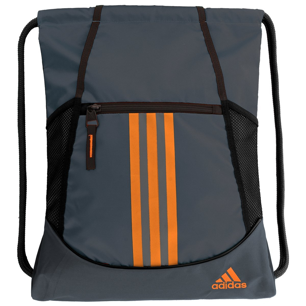 adidas Alliance II Sackpack, Deepest Space/Solar Orange, One Size