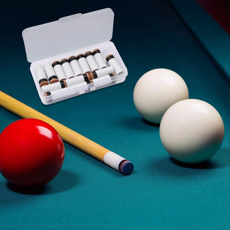 Glue Pool Billiards Snooker Leather Cue Tips Billiards Club Accessorie