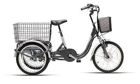 Cicli Ferrareis E Bike Bici Elettrica A Tre Ruote Lingotto Amazon