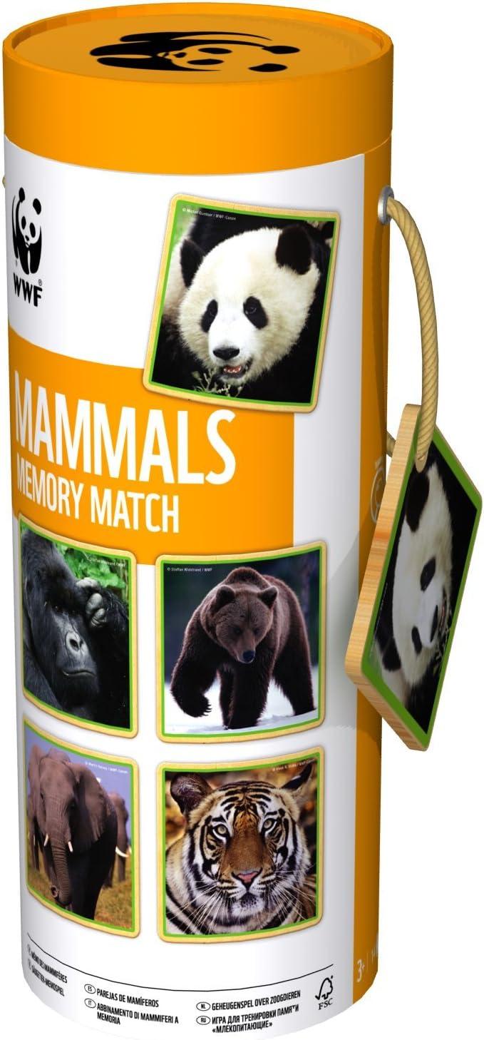 WWF - Juego de Memoria Gigante Mamíferos (984T1): Amazon.es ...