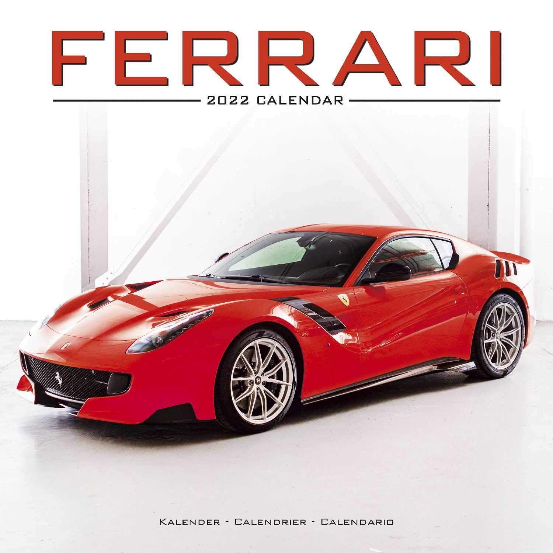 Calendrier Stock Car 2022 Ferrari Calendar  Calendars 2021   2022 Wall Calendars   Car