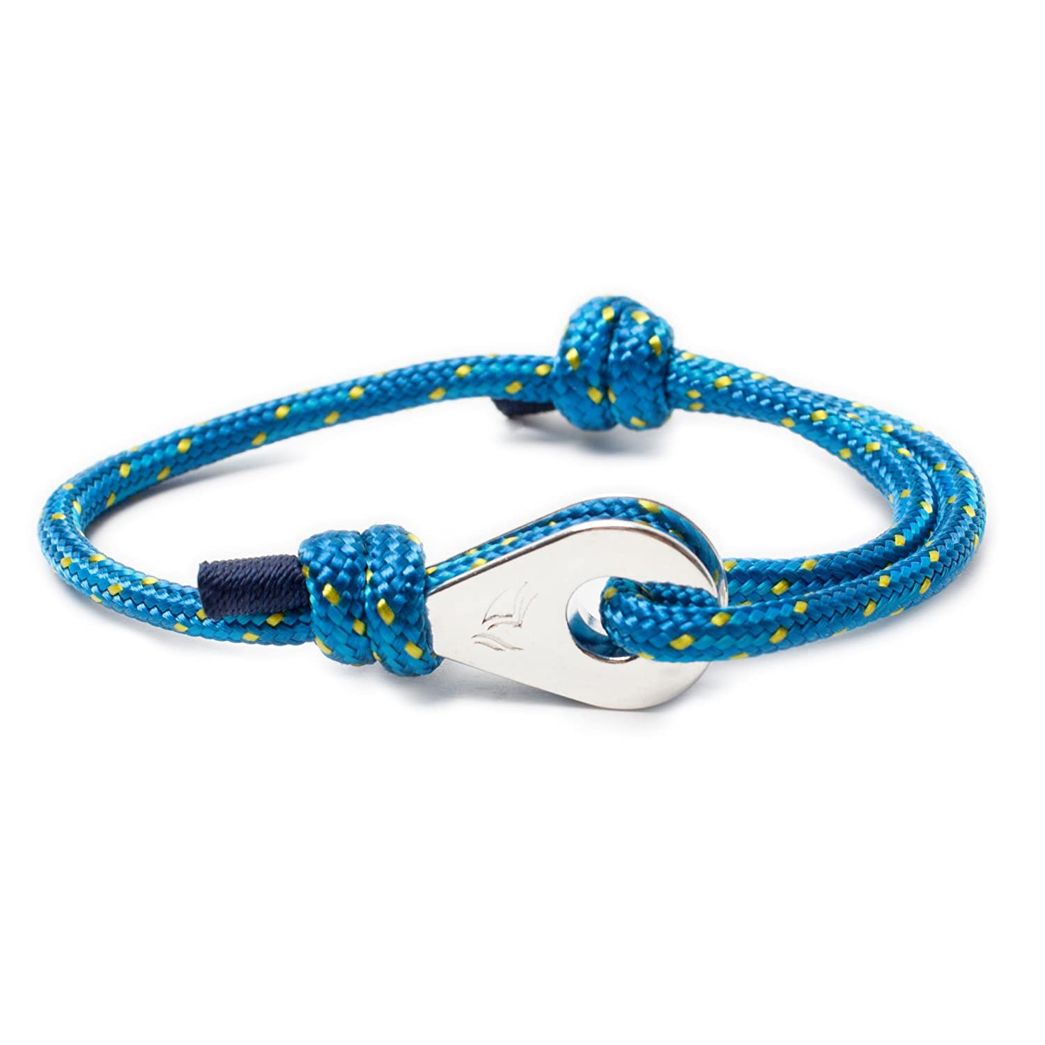 navy neon blue products gold allison tremont bracelet solid rope jewelry nautical cole pink