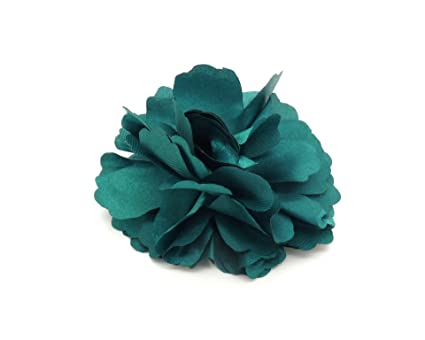 Alicate/broche flor azul pato