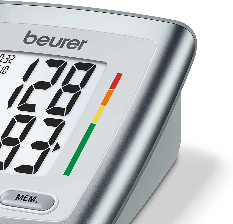 Beurer BM 35 Tensiómetro de brazo, indicador OMS, detección ...