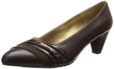 Soft Style by Hush Puppies Women's Danette Dress Pump, Brown, ...