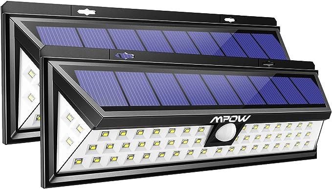 Mpow Lampe Solaire Extérieur Etanche IP65 1188 Lumens... 4 PACK 54 LED