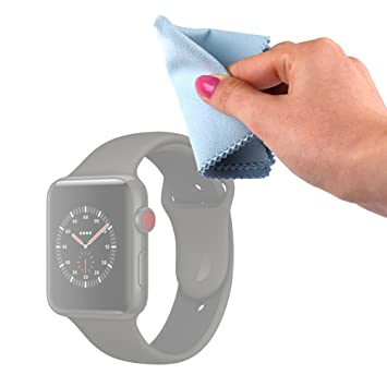 DURAGADGET Gamuza Limpiadora para Smartwatch Apple Watch ...