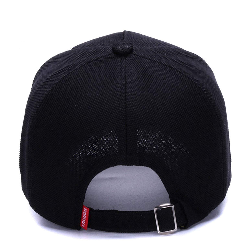JINRMP Baseball Cap Men Hat Spring Fashion Dad Hat Trucker Black Embroidered Casual Hip Hop