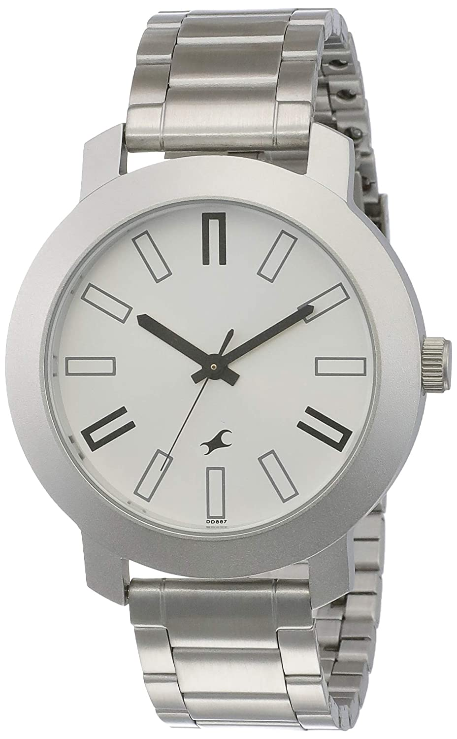 91e8a274400 Buy Fastrack Casual Analog Silver Dial Men s Watch -NK3120SM01 Online at  Low Prices in India - Amazon.in