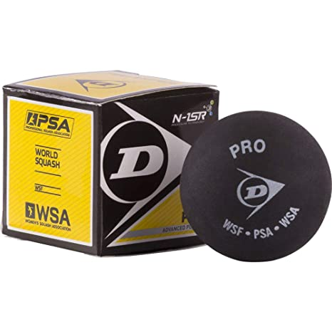 Dunlop pelota de squash, negro: Amazon.es: Deportes y aire libre