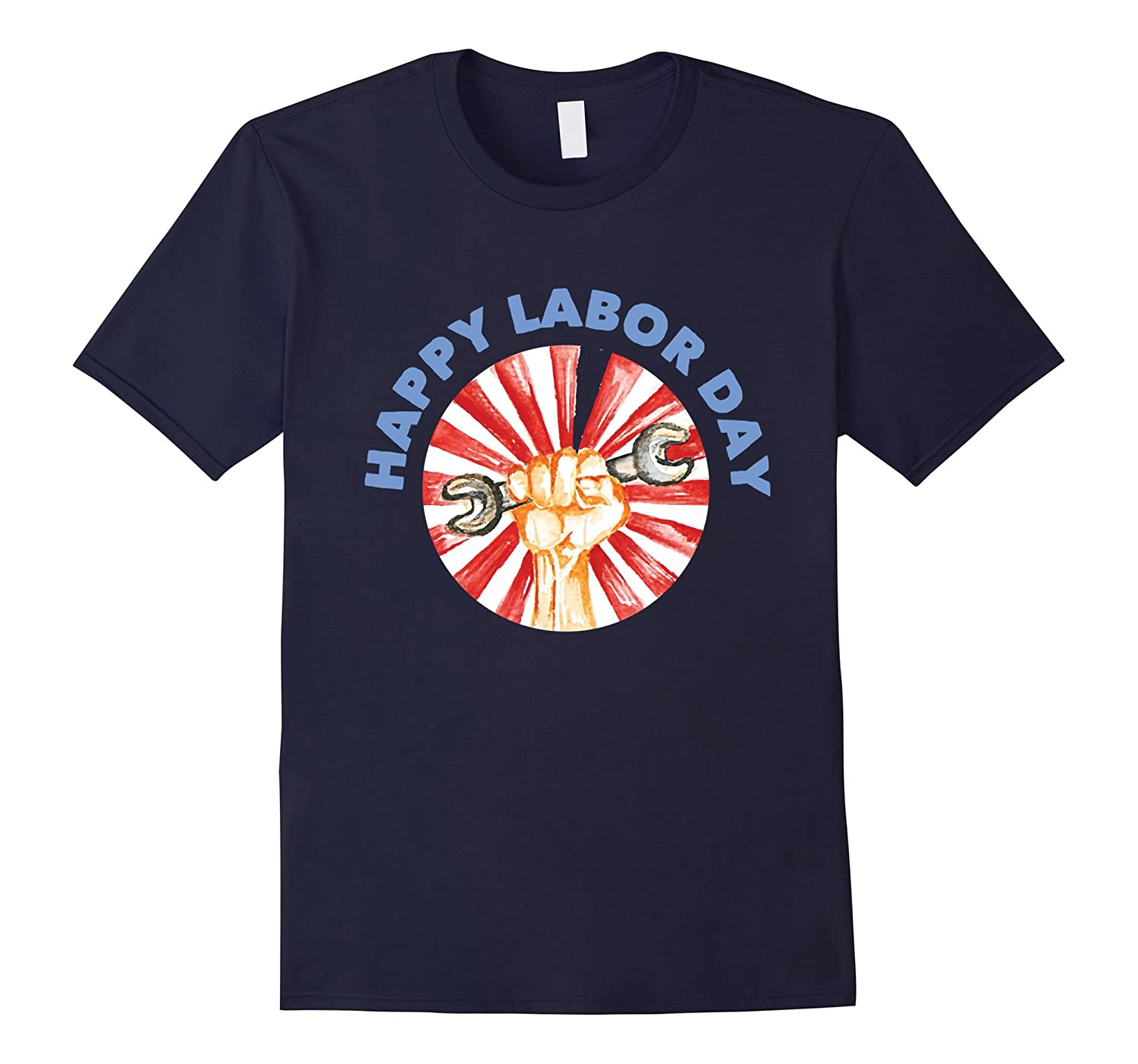 Happy Labor Day Gift T-Shirt For Worker-BN