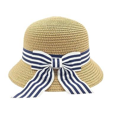 ccc59cbf65d7 Artbro - Sombrero - para niña Beige Amarillo Oscuro Medium  Amazon.es  Ropa  y accesorios