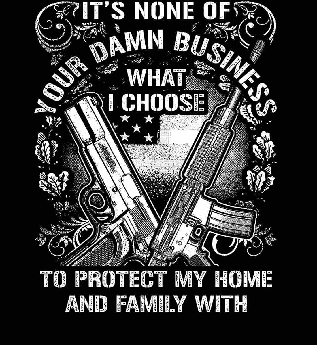 Sons Of Liberty Hoodie Guns Protect My Family Sweatshirt