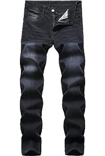 Leward Mens Skinny Slim Fit Stretch Straight Leg Fashion Jeans Pants