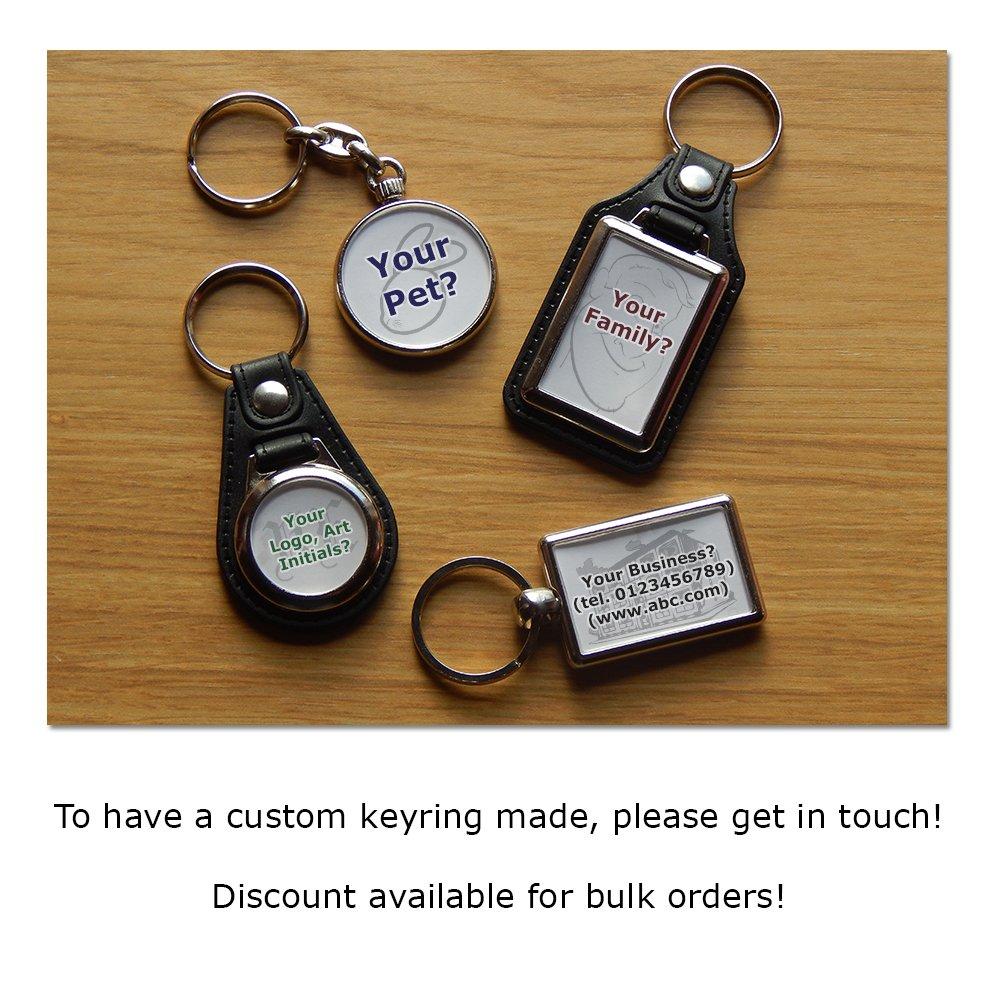 Your Own Colour! SUZUKI BANDIT S1200/Moto Premium KOOLART porte-cl/és en cuir et chrome Choisissez une couleur.
