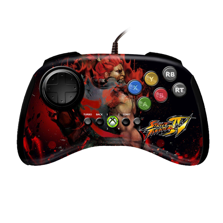 Mad Catz Street Fighter IV FightPad - Akuma (Xbox 360) [Importación Inglesa]: Amazon.es: Videojuegos