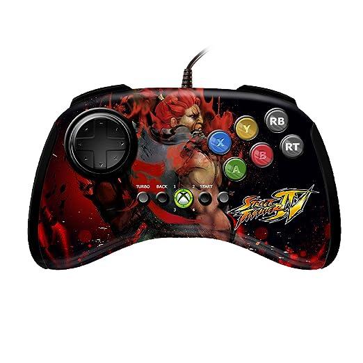 Mad Catz Street Fighter IV FightPad - Akuma (Xbox 360) [Importación Inglesa]