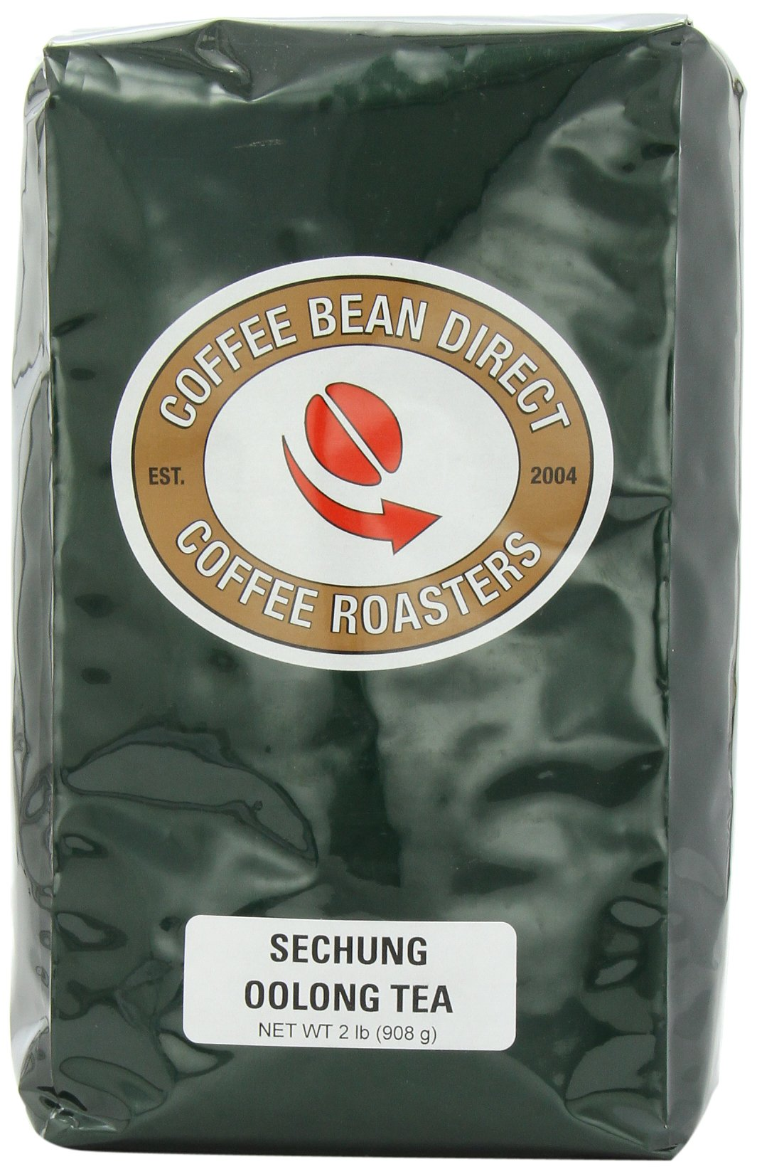 Coffee Bean Direct Sechung Oolong Loose Leaf Tea, 2 Pound Bag