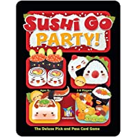 Deals on Gamewright Sushi Go Party- The Deluxe Pick & Pass Card Game