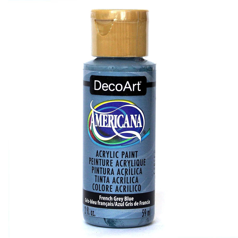 Deco Art Americana Acrylic Multi-Purpose Paint, French Grey Blue DecoArt DAO98-3