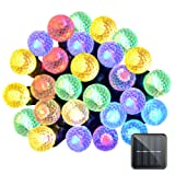 Amazon Price History for:Lalapao Solar Powered Outdoor String Lights 50 LED G12 Fairy Christmas Decor Lighting Timer with 8 Modes For Indoor Garden Path Patio Lawn Holiday Decorations Garden (Multi Color)