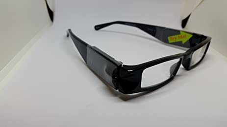 Amazon.com : Foster Grant Reading Glasses With LED LIGHTS - BLACK ...