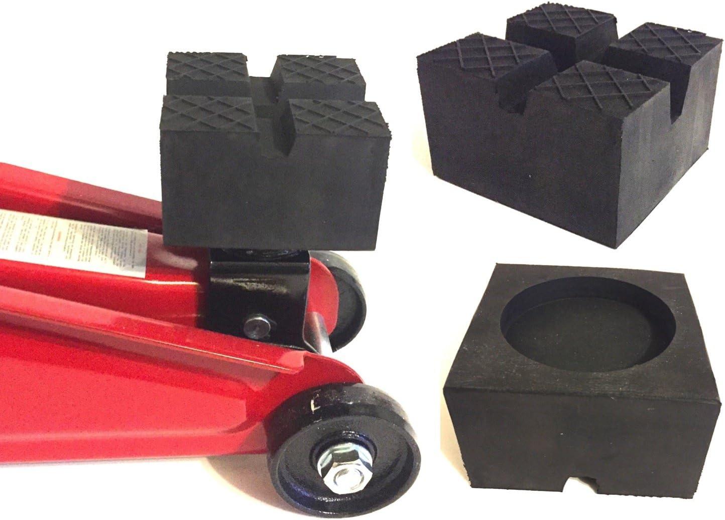 Gummiauflagen Für Wagenheber In über 40 Varianten Und Größen 75x75x25mm Nut Auto