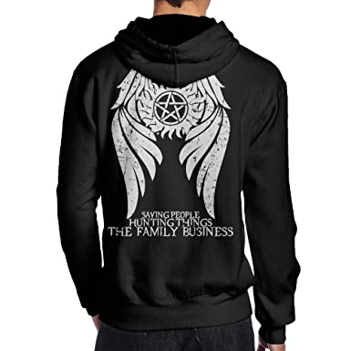 be7281d829 Amazon.com: Winchester Bros Supernatural Into The Mystic Cool Hoodies Men Hoodies  Sweatshirts Pullover: Clothing