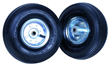 Tec Hit 176008 Juego de 2 ruedas hinchables de 20 cm para carro 175200