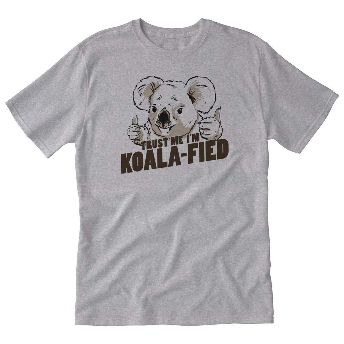 graceful shop Trust Me Im Koala-fied Adult Tshirt