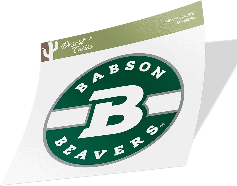 Babson College Beavers NCAA Vinyl Decal Laptop Water Bottle Car Scrapbook (Sticker - 00029A)