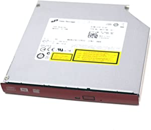 C619T Genuine OEM Dell Vostro 1220 Notebook RED Bezel DVDRW Optical Drive DVD+/-RW 8X HLDS Assembly GT10N Hitachi-LG 1.8A LGE-DMGT10D(B) Low Rider P633H w/RED Face ODD C615T C617T D2PHV 1C86G