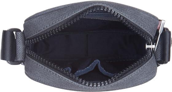 Tommy Hilfiger - Essential Mini Reporter Prt, Bolsas para portátil Hombre, Grey (Grey Mix), 2x13x20 cm (W x H L): Amazon.es: Zapatos y complementos