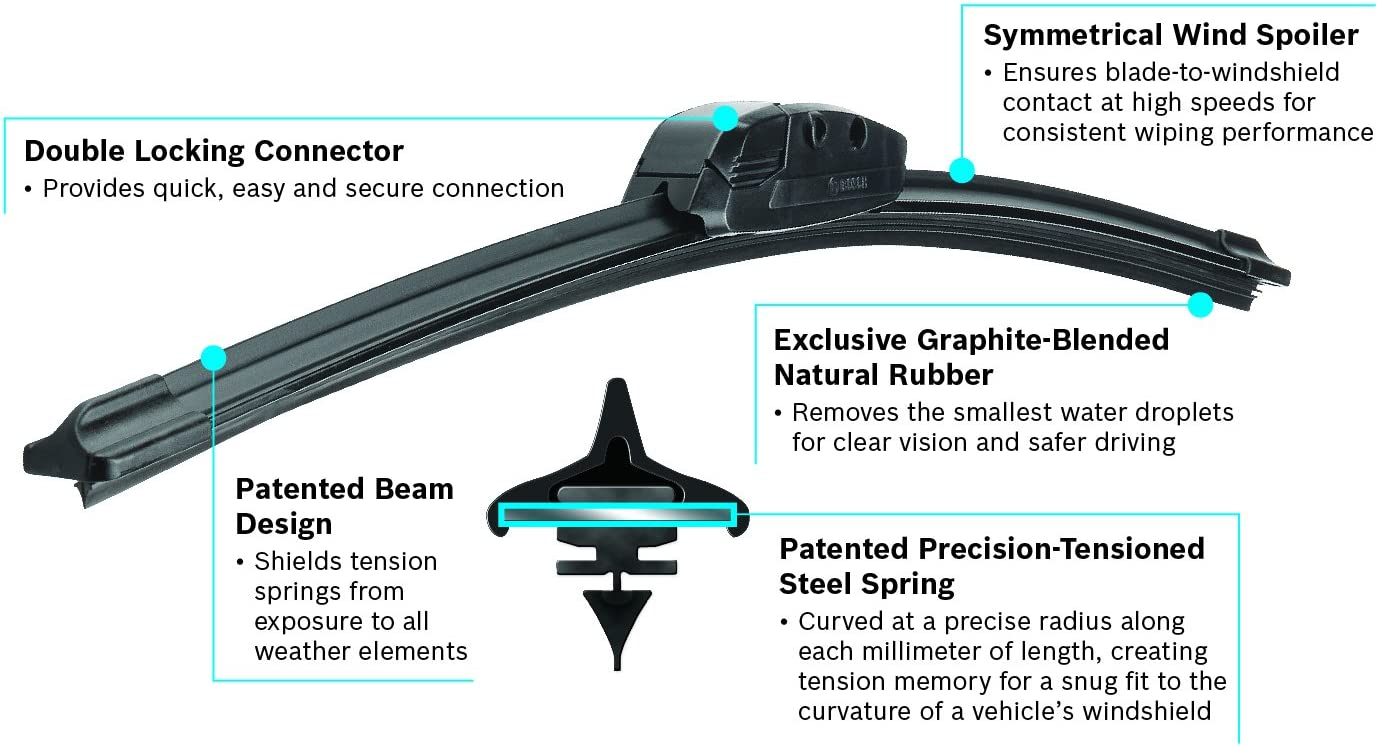 "Bosch Evolution 4826 Wiper Blade - 26"" (Pack of 1)"