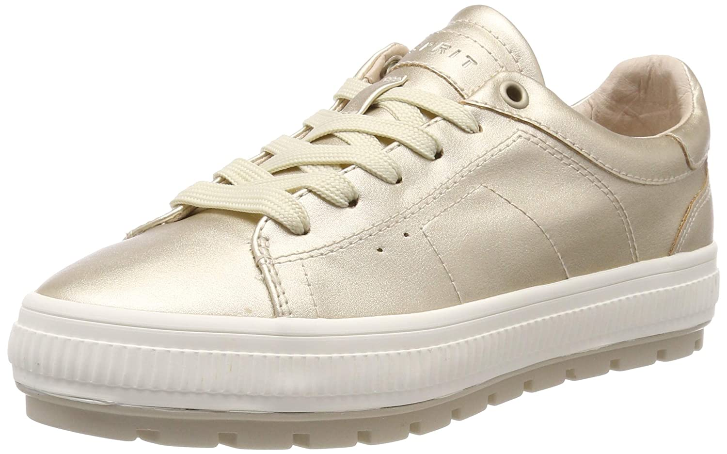 Yellow (gold 790) ESPRIT Women's Filo Platmet Lu Low-Top Sneakers