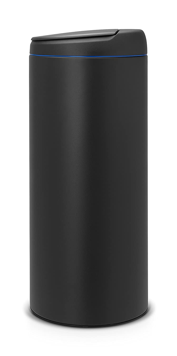 Brabantia Flip bin 30 Litre Plastic Anthracite with Dark Grey lid