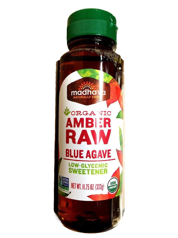 Madhava Organic Amber Raw Blue Agave - 11.75 oz