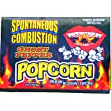 3 Pack Spontaneous Combustion Microwave Ghost Pepper Popcorn - For Those Brave Souls That Can Take the Heat.