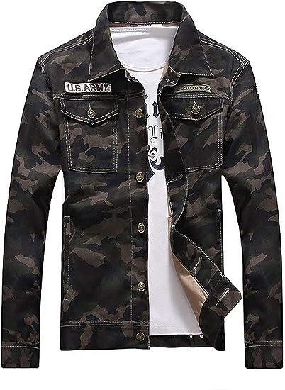 Men Jacket Denim Jacket Cotton Windbreaker Outdoor Jacket Casual Coat