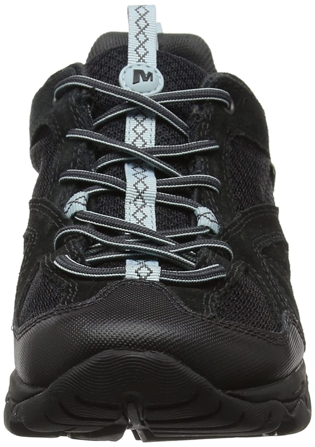 Merrell Avian Light 2 Vent Waterproof, Chaussures de Randonnée Basses Femme, (Black), 38 EU