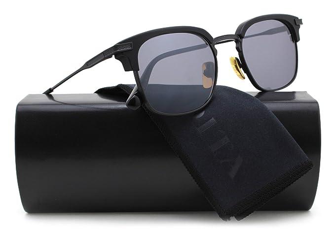 c38dbda17e DITA DRX-2080 Nomad Sunglasses Matte Black w Grey Mirror (DRX-2080 ...
