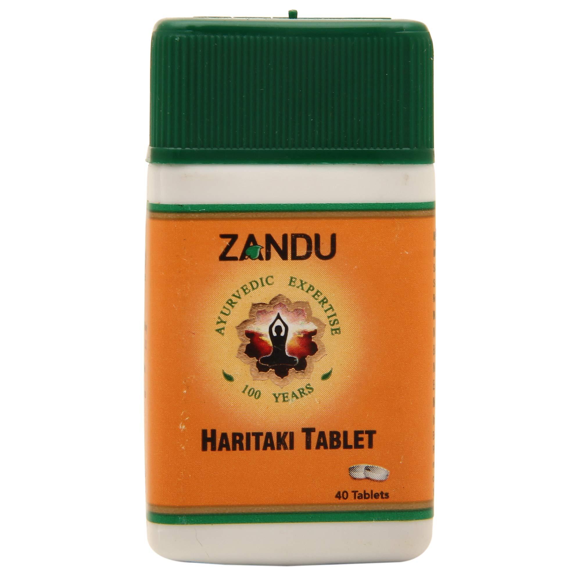 Ayupra Wellness Zandu Haritaki Tablet , 40 Tablets