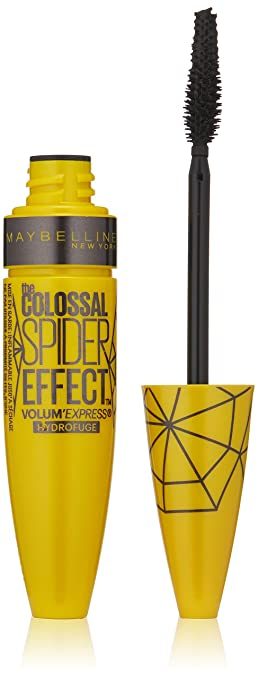 528b537eee7 Maybelline Volum' Express Colossal Spider Effect Waterproof Mascara,  Classic Black, 0.32 fl.