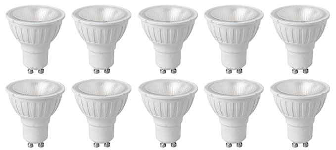 Pack of 10 x Megaman 141730 LED GU10 PAR16 Bulbs 4 Watt 35 Degree 2800K Warm  sc 1 st  Amazon UK & Pack of 10 x Megaman 141730 LED GU10 PAR16 Bulbs 4 Watt 35 Degree ...