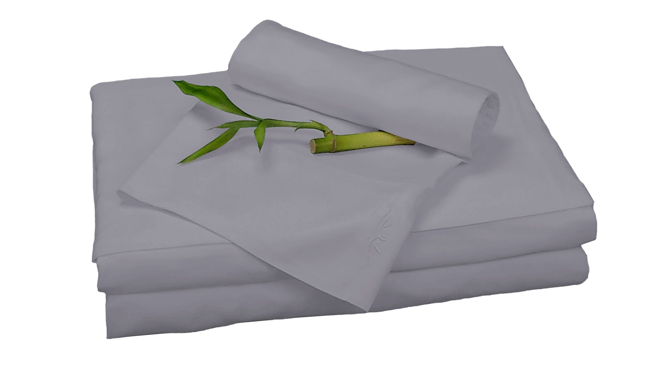 BedVoyage Bamboo Rayon Sheet Set - King - Platinum